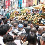 浅草神社の三社祭。2017年の日程や見どころ!交通規制は?