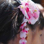 100均で簡単手作り!七五三の可愛い髪飾りの作り方。