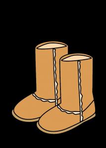 スエード靴の画像