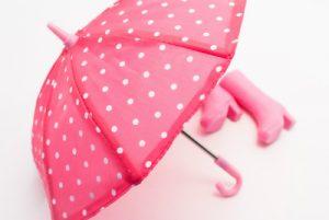 ピンクの可愛い傘