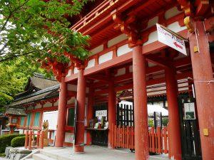 京都の古い神社
