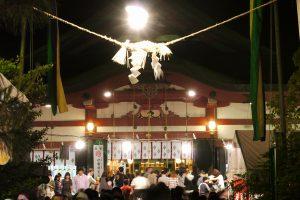 夜の山王祭