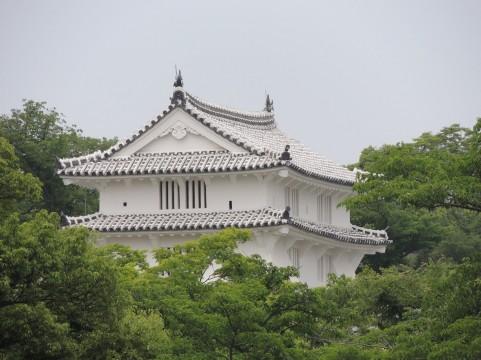 姫路城の上部