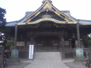 成田山新勝寺の正面
