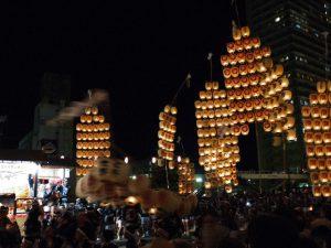 秋田の竿燈