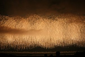 柏崎の花火の様子