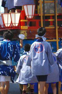 唐津くんちのお祭り