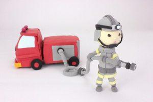 消防士の活躍