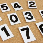 ゲン担ぎに!縁起の良い1桁と4桁の数字は何?逆に縁起の悪い数字は?