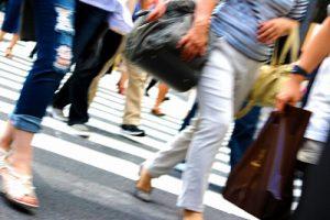 街を歩く人達
