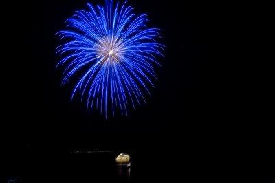夜空に舞う花火