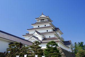 福島会津のお城
