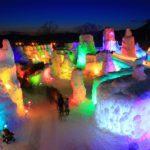 千歳の支笏湖氷濤まつり2018年の日程と見どころ!花火の時間は?
