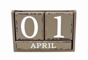4月1日はエイプリルフール