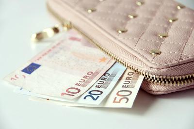 財布からお札が