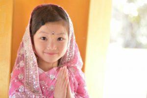 インド人の子ども