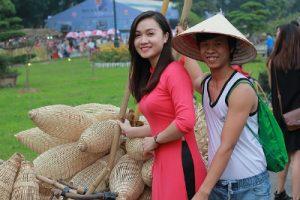 ベトナム人のカップル