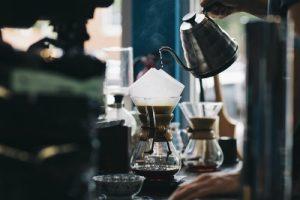 コーヒーを焙煎
