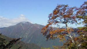 谷川岳のきれいな景色
