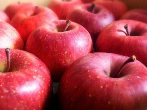 沢山のりんご