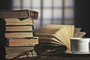 のんびりと読書を