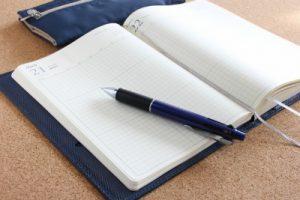 ビジネスの進捗をノートにつける