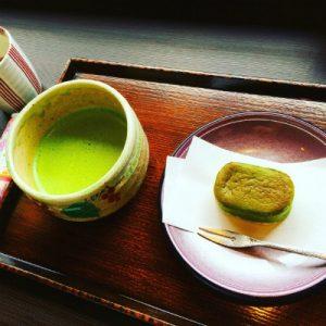抹茶とスイーツ
