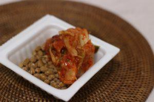 キムチと納豆