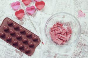ルビーチョコレートのイメージ