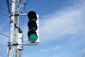 縦の信号機