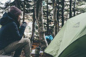 一人でキャンプ