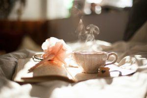 ゆったりとお茶でも飲む