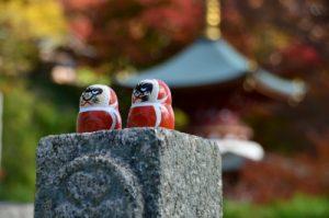 勝尾寺のダルマ