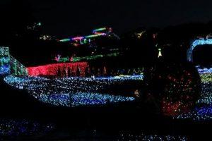 伊豆高原グランイルミの夜